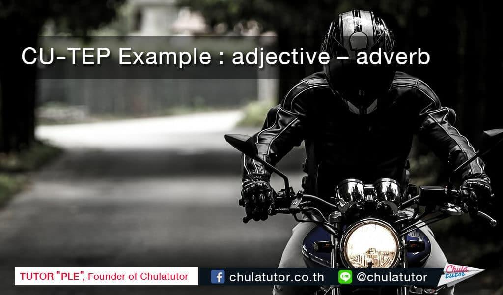 adjective adverb
