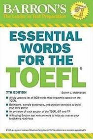 book barron essential words for the toefl