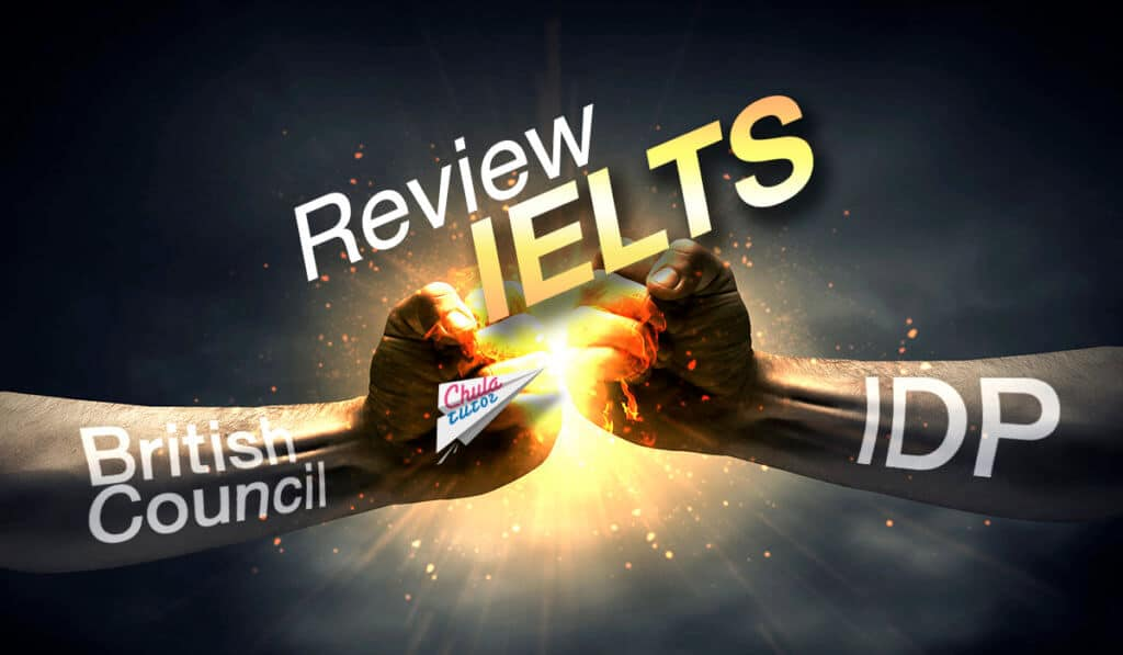 Review IELTS British Council and IDP