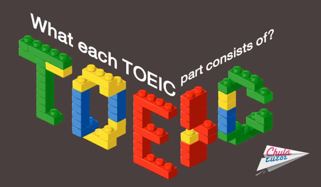 What each TOEIC part consists of?