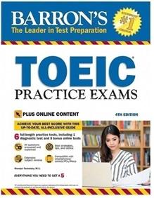 book barron toeic practice exams