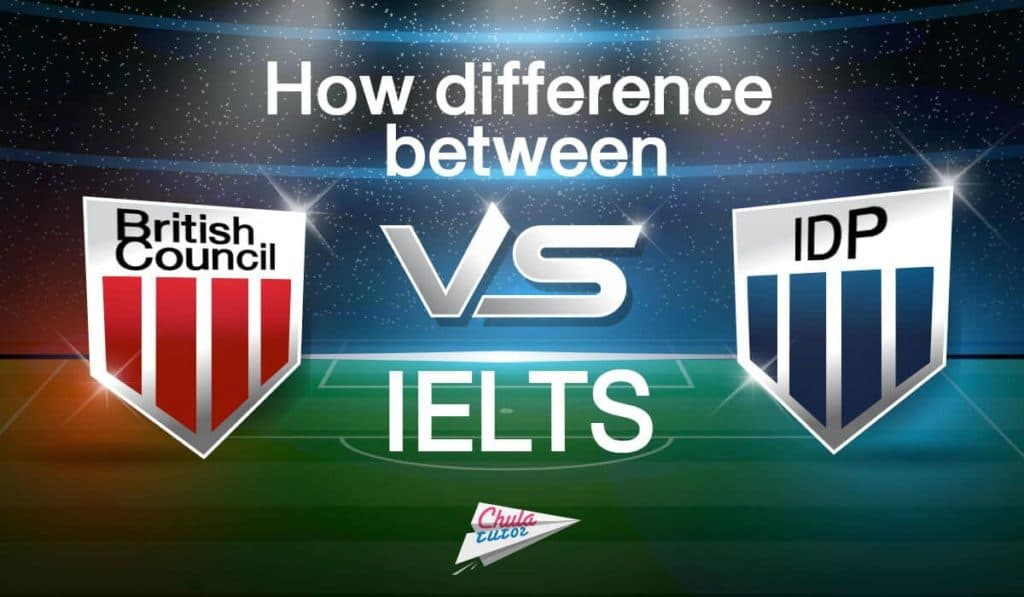 How difference between IELTS British Council VS IDP ?