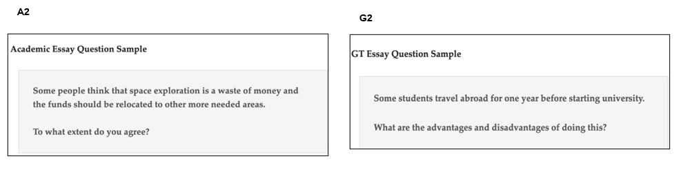 IELTS Academic Task 1 General Task 1